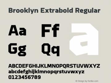 Brooklyn Extrabold
