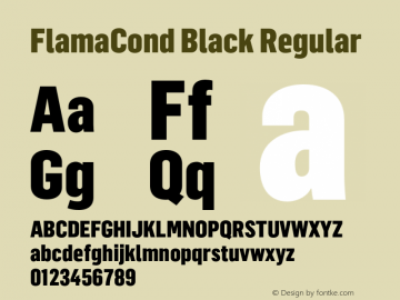 FlamaCond Black