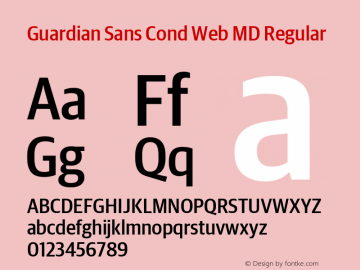 Guardian Sans Cond Web MD
