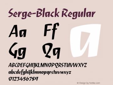 Serge-Black