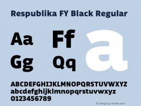 Respublika FY Black