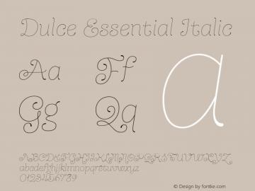 Dulce Essential