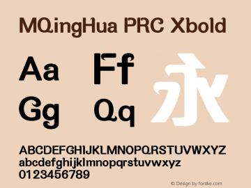 MQingHua PRC
