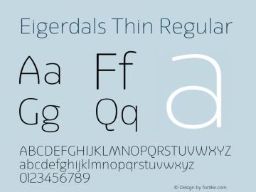 Eigerdals Thin