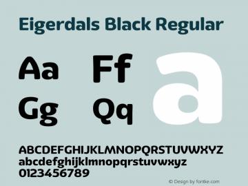Eigerdals Black