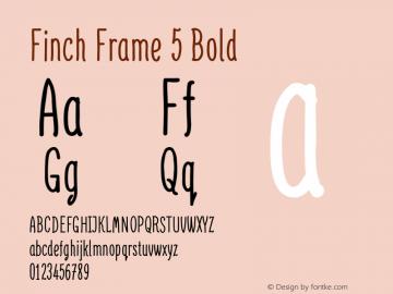 Finch Frame 5