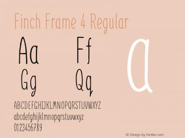 Finch Frame 4