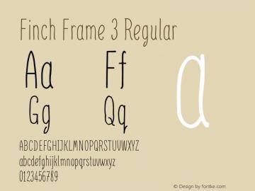 Finch Frame 3