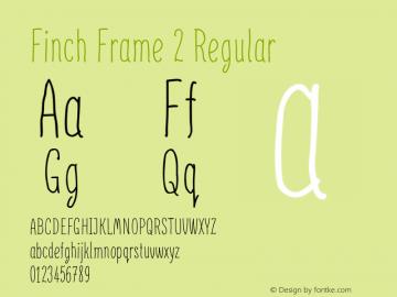 Finch Frame 2