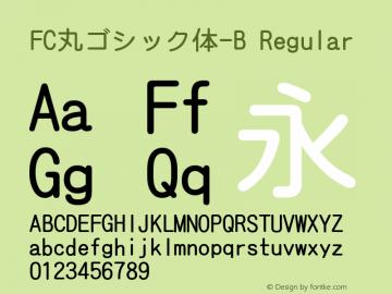 FC丸ゴシック体-B