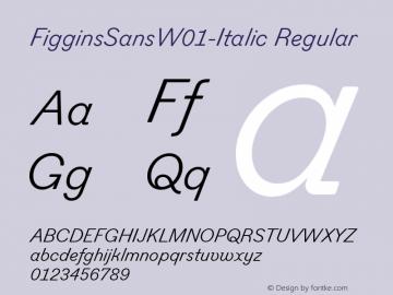 FigginsSans-Italic