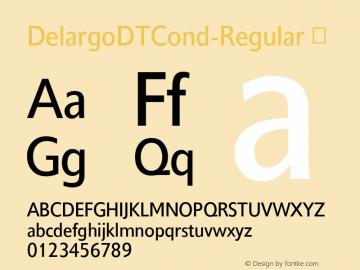 DelargoDTCond-Regular