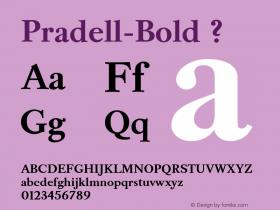 Pradell-Bold