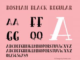 Bosman Black