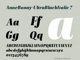 AnneBonny-UltraBlackItalic