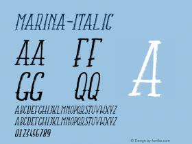 MARINA-Italic
