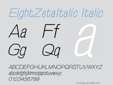 EightZetaItalic