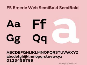 FS Emeric Web SemiBold