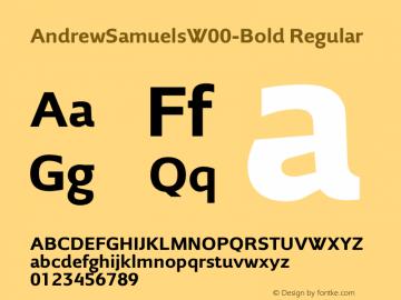 AndrewSamuels-Bold