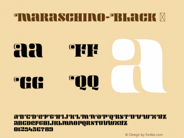 Maraschino-Black