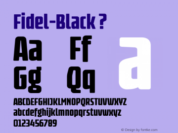 Fidel-Black