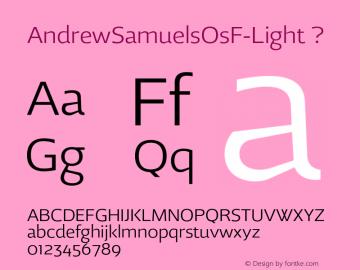 AndrewSamuelsOsF-Light