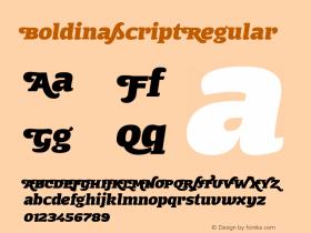 BoldinaScript