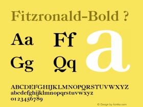 Fitzronald-Bold