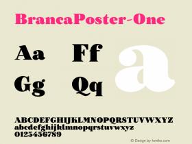 BrancaPoster-One