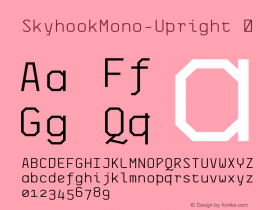 SkyhookMono-Upright