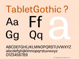 TabletGothic