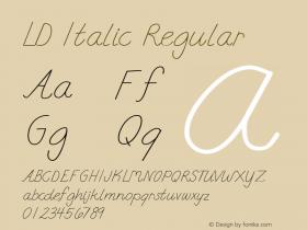 LD Italic