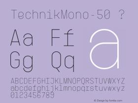 TechnikMono-50