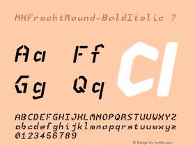 NKFrachtRound-BoldItalic