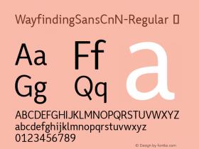 WayfindingSansCnN-Regular