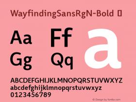 WayfindingSansRgN-Bold