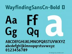 WayfindingSansCn-Bold
