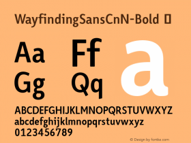 WayfindingSansCnN-Bold