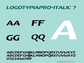 LogotypiaPro-Italic