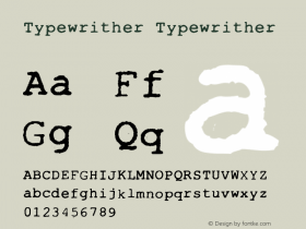 Typewrither