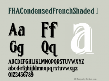 FHACondensedFrenchShaded
