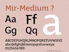 Mir-Medium