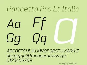 Pancetta Pro Lt