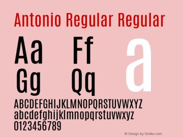 Antonio Regular