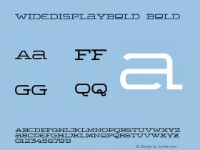 WideDisplayBold