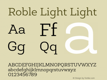 Roble Light