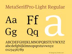 MetaSerifPro-Light