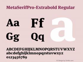 MetaSerifPro-Extrabold