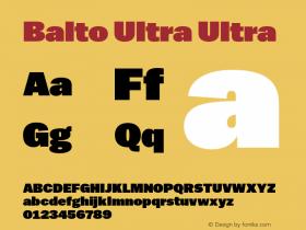 Balto Ultra