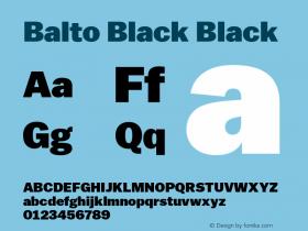 Balto Black